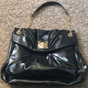 GIANNI BINI BLACK PURSES